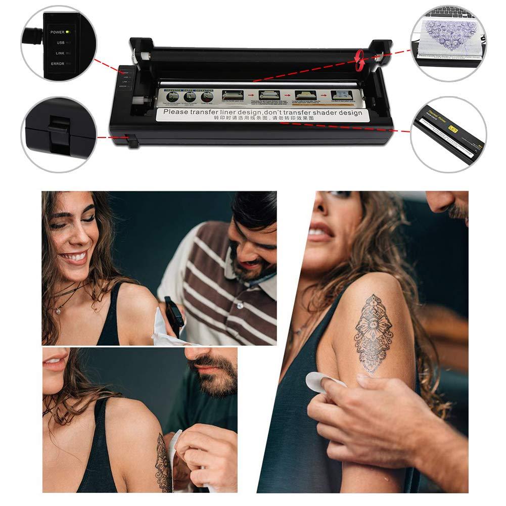 Amazon.com: Thermal Transfer tatuaje máquina, portátil ...