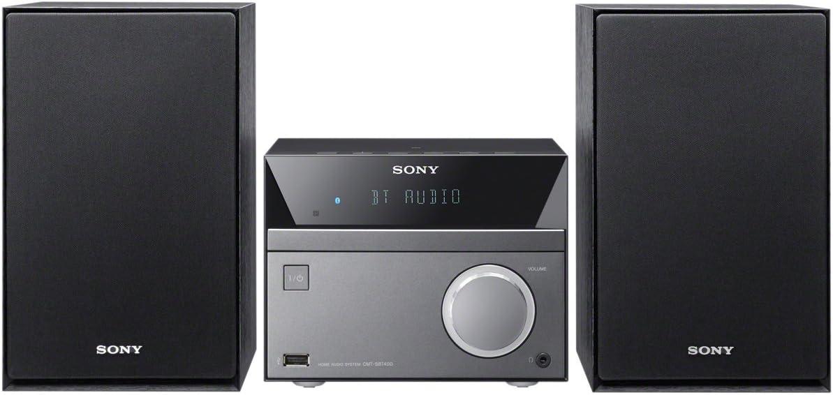 Sony CMT-SBT40D - Sistema Hi-Fi Compacto de 50W con Bluetooth y NFC