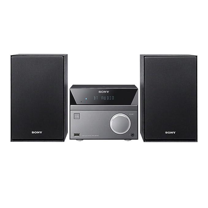 132 opinioni per Sony CMT-SBT40D Sistema Hi-Fi, Potenza 50W, Lettore CD, Radio FM, USB,