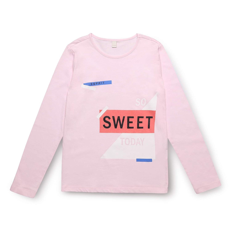 ESPRIT Girls T-Shirt Ls So S Long Sleeve Top