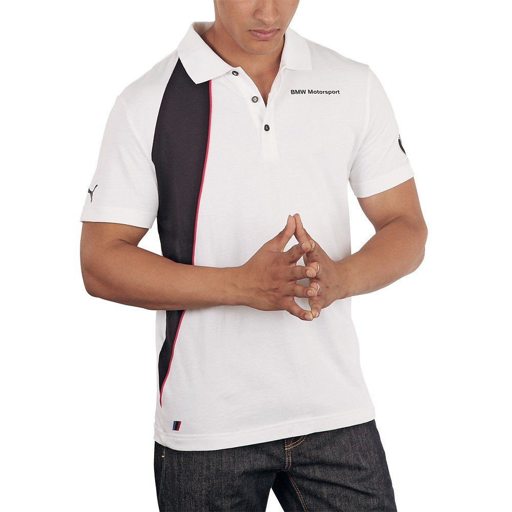 Puma BMW Motorsport 562480 02 - Polo para hombre, color blanco ...