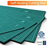 Self Healing Rotary Cutting Mat, Full 18x24, Best for Quilting Sewing | Warp-Proof & Odorless (Not From China)