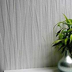 Brewster 437-RD80028 Folded Paper Textured White Paintable Wallpaper