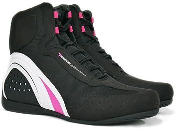Dainese Motorshoe Air JB Damenschuhe Schwarz/Pink 36 cT6gA0L6w