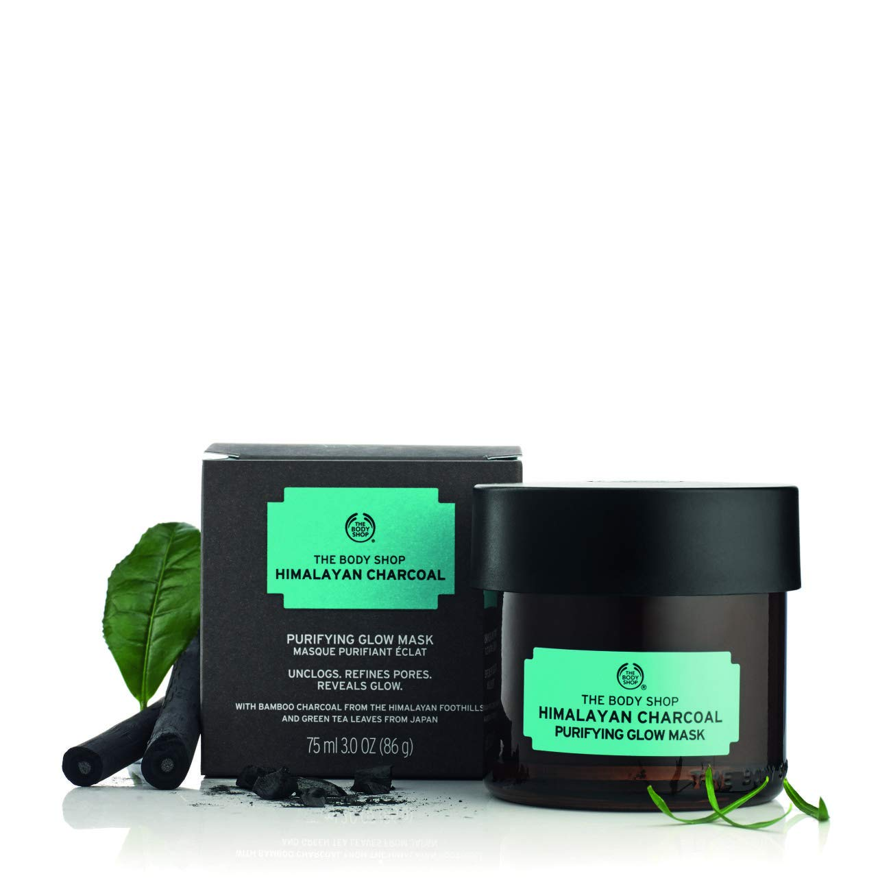 The Body Shop Himalayan Charcoal Purifying Glow Face Mask