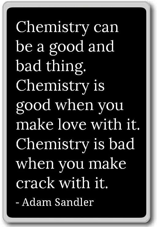Química puede ser un bueno y malo. Farmacia... - Adam Sandler ...