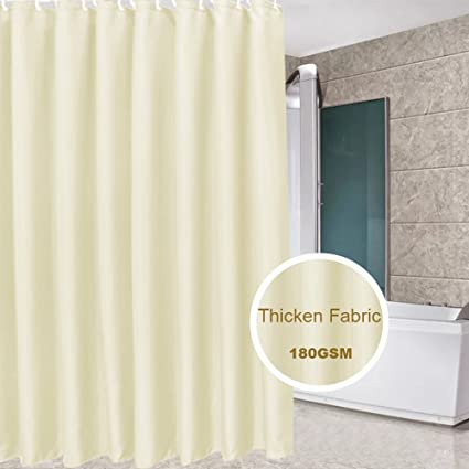 Eforcurtain Teen Girls Romantic Shower Curtain Fabric Stall Extra Long 54 X 78 Inches Light