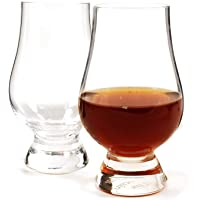 Glencairn Whisky Glass, Set of 4 in One Gift Box 2 Pack Clear