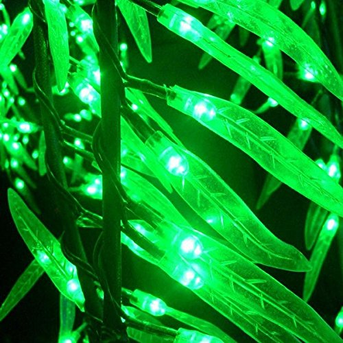 1.2m 4ft Height Artificial Willow Weeping tree Green Color Rainproof Indoor outdoor Christmas/Holiday/Garden/Party/Wedding Decor by Generic (Image #1)