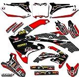 04 crf 450 graphics - Senge Graphics 2002-2004 Honda CRF 450R Podium Red Graphics kit
