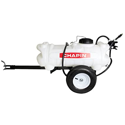 Chapin Ground-Driven Tow-Behind Trailer Sprayer - 15-Gallon Capacity, 40  PSI, Model Number 97650