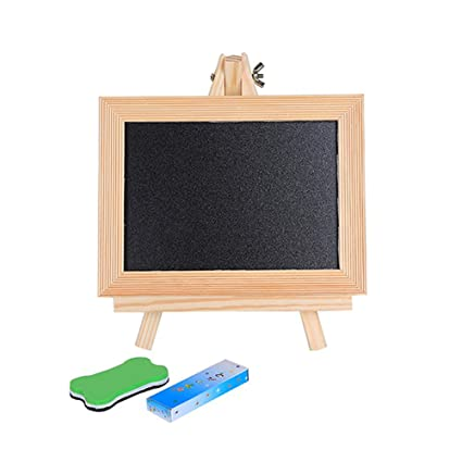 Amazon.com : Afco Childrens Mini Blackboard, Kids Wooden ...