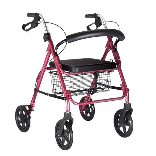 Andador con ruedas Andador con ruedas de acero para personas de la ...