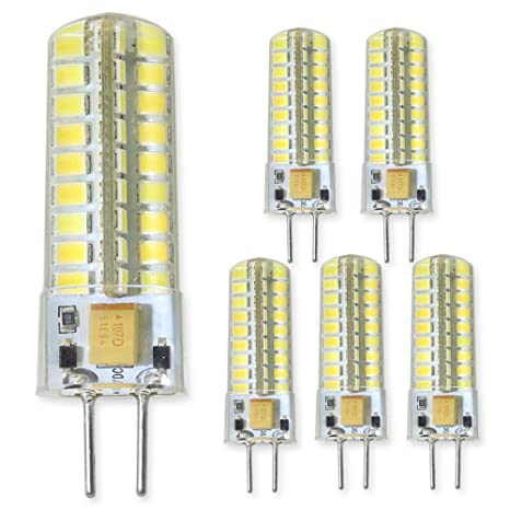 Groovy GY6.35 LED Light Bulb 5 Watts 12 Volt G6.35/GY6.35 Bi-Pin Base 50W DJ95