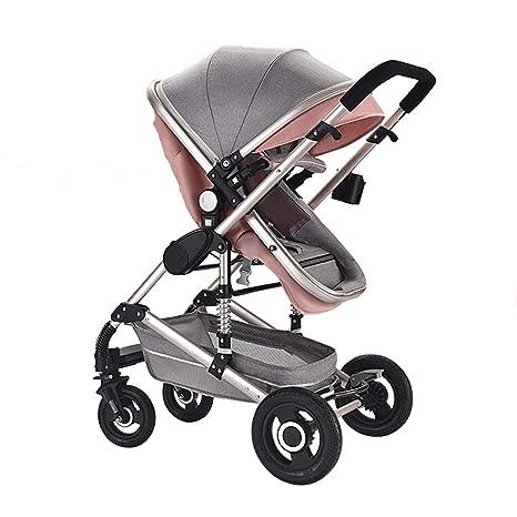 carrito de bebe Paisaje claro y alto Puede sentarse y acostarse ...