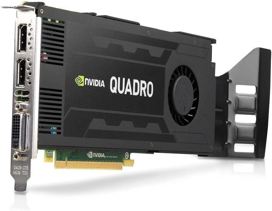 Nvidia Quadro K4200 4GB GDDR5 256-bit PCI Express 2.0 x16 Full Height Video Card with Rear Bracket