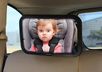 Amazon.com : Baby Car Mirror for Back Seat - Rear Facing to See ...