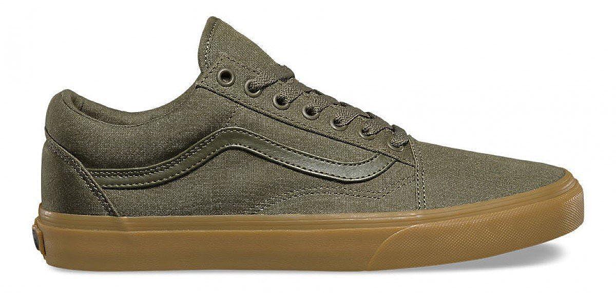 vans old skool ivy green gum