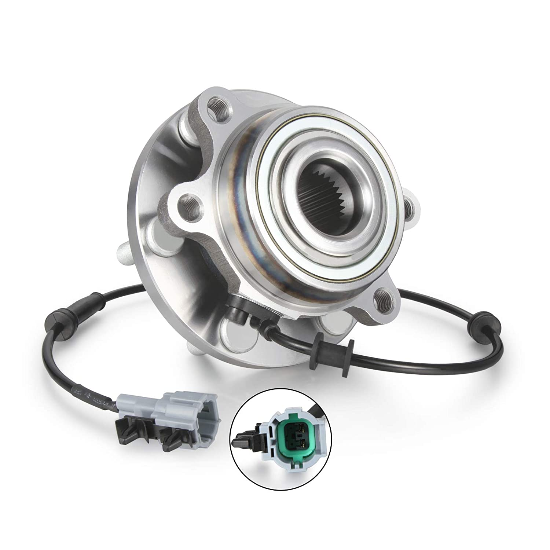 Madlife Garage Radlager vorne hinten mit ABS-Sensor 40202-EA300 f/ür Navara D40 2.5 3.0