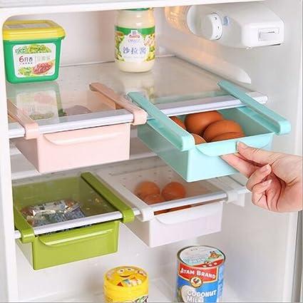 WJkuku, contenitore salvaspazio multifunzione in plastica per cucina ...