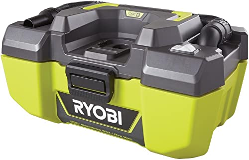 RYOBI 18-Volt ONE 3 Gal Project Wet Dry Vacuum and Blower with Accessory Storage Tool-Only- Battery and Charger NOT included