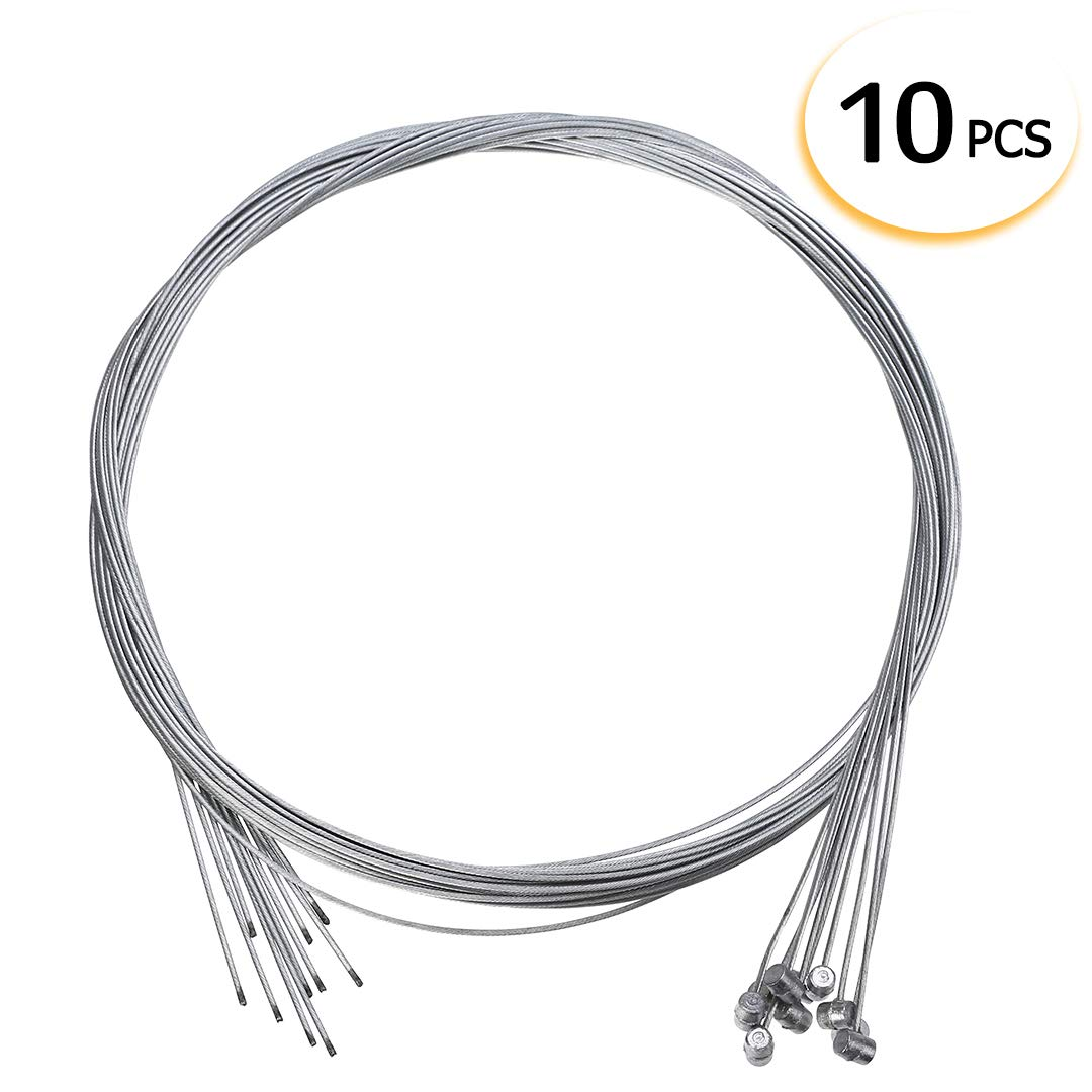 10Pcs Bike Brake Inner Wire Shifter Derailleur Cable Line for Front Rear Bicycle Housing Kit Bike Accessories Tools Mayitr 004