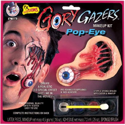 Halloween Make Up Kit and Accessories (Gory Gazers Pop-Eye) ()