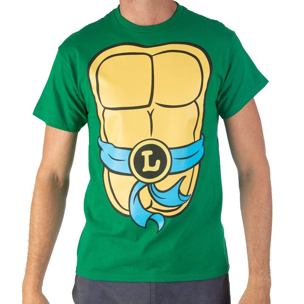 Novelty Men Teenage Mutant Ninja Turtles TMNT Mens Costume T-Shirt