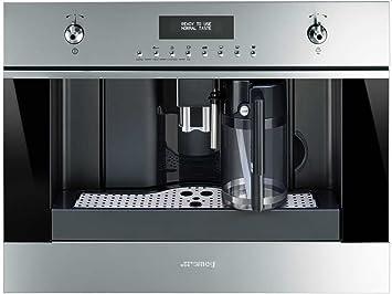 Smeg CMS6451X - Cafetera (Integrado, Máquina espresso, 1,8 L ...