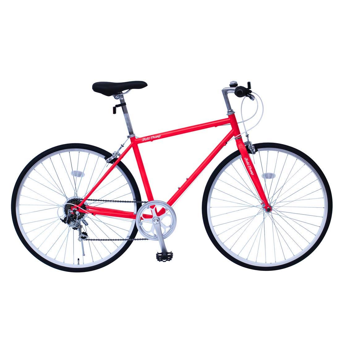 【期間限定】 FIELD CHAMP MG-FCP700CF-RD MG-FCP700CF-RD レッド レッド [クロスバイク自転車] CHAMP B0792QPVZ8, SAVOY:1409c50e --- greaterbayx.co