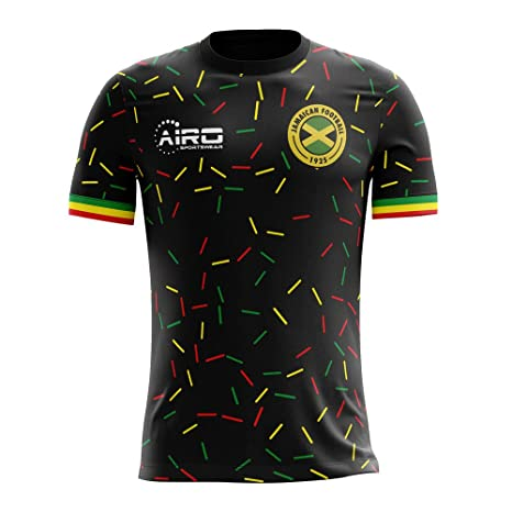 b2282f66b Amazon.com : Airo Sportswear 2018-2019 Jamaica Third Concept Football  Soccer T-Shirt Jersey : Clothing