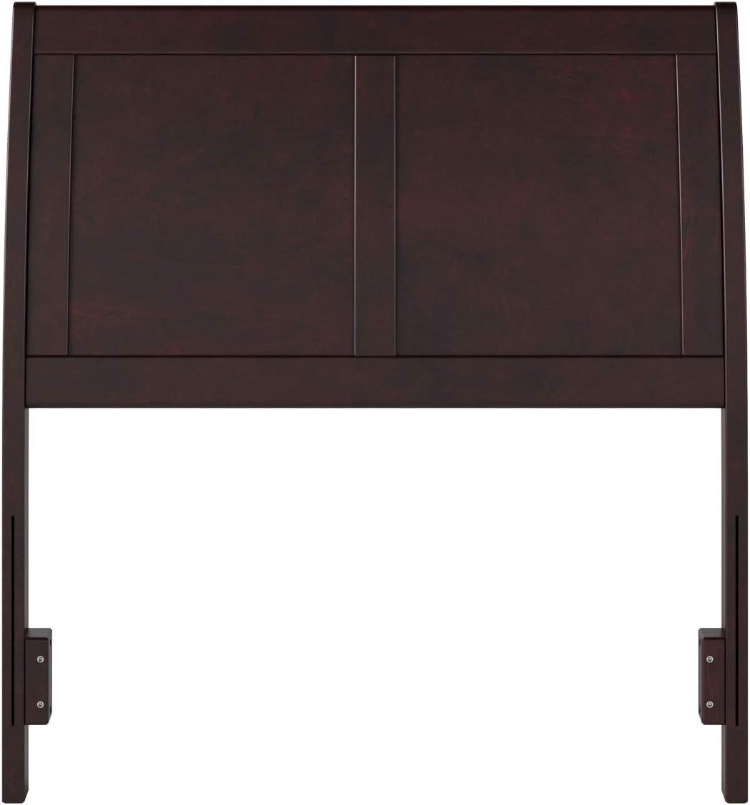 Atlantic Furniture Portland Headboard, Twin, Espresso