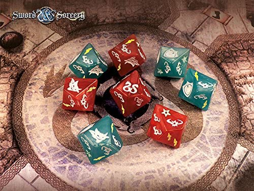Sword and Sorcery: Dice Pack - English: Amazon.es: Juguetes y juegos