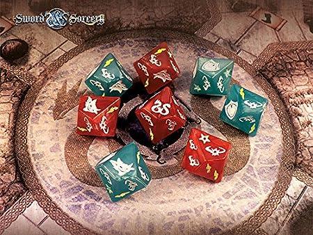 Sword and Sorcery: Dice Pack - English: Amazon.es: Juguetes y juegos