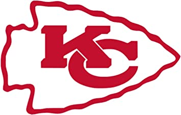 4 x 2.53, Real Red Kansas City Chiefs Vinyl Sticker Decals for Car Bumper Window MacBook pro Laptop iPad iPhone