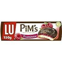 Pim's, Koekjes met frambozenvulling en zwarte chocoladelaagje, 150 g