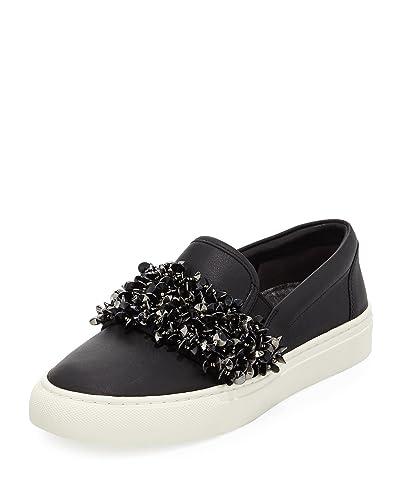 f24f89cdbd6a Tory Burch Logan Embellished Platform Sneakers (9.5) Black
