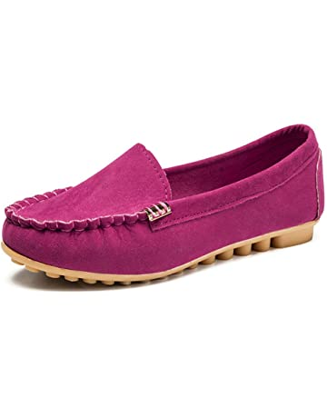 Londony ♥‿♥ Clearance,Womens Faux Suede Loafers Flats Casual Round Toe Moccasins Wild