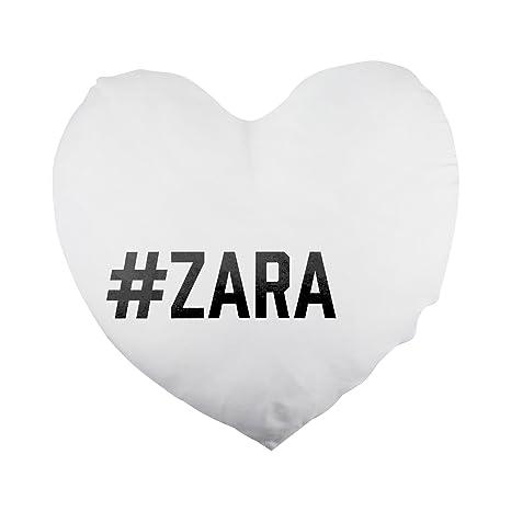 Zara, con forma de corazón funda de almohada: Amazon.es: Hogar