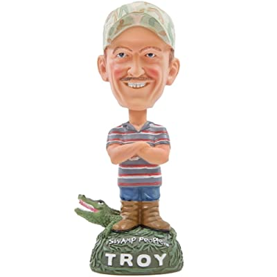 Troy - Swamp People - Bobble-Head: Toys & Games