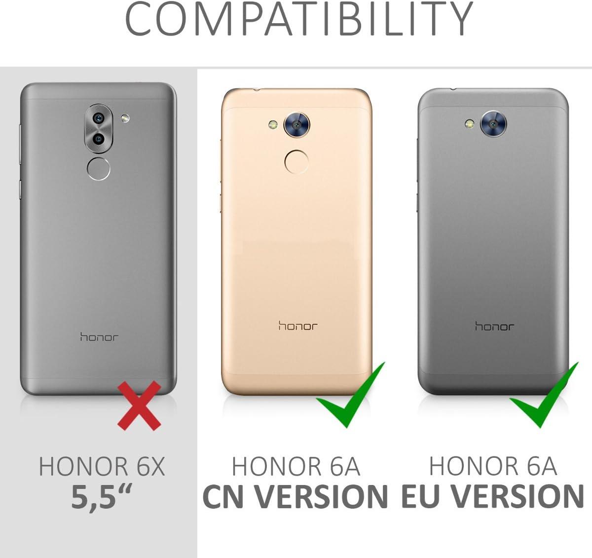 kwmobile Funda movil Compatible con Huawei Honor 6A / 6A Pro ...