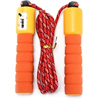 Skipping Rope/Speed Rope with Counter and Comfortable Anti-Slip Handles, Light Skipping Rope for Working Out, Sports…