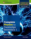Complete Physics for Cambridge Secondary 1 Student Book, Helen Reynolds, 0198390246