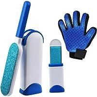 🦊 Kit removedor del pelo de perros y gatos. Incluye cepillo para muebles y alfombras, cepillo portátil para la ropa…