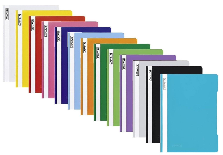 13 Farben 1 13 Cartelline portadocumenti in plastica in PP