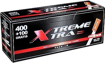 6 cajas de tubos X-Tra 400+100 (3000 tubos): Amazon.es: Electrónica