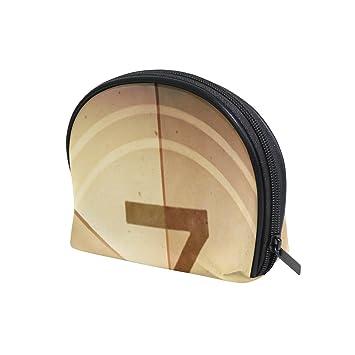 b06a41152c Amazon.com   LORVIES Countdown Seven Cosmetic Pouch Clutch Makeup Bag  Travel Organizer Case Toiletry Pouch for Women   Beauty