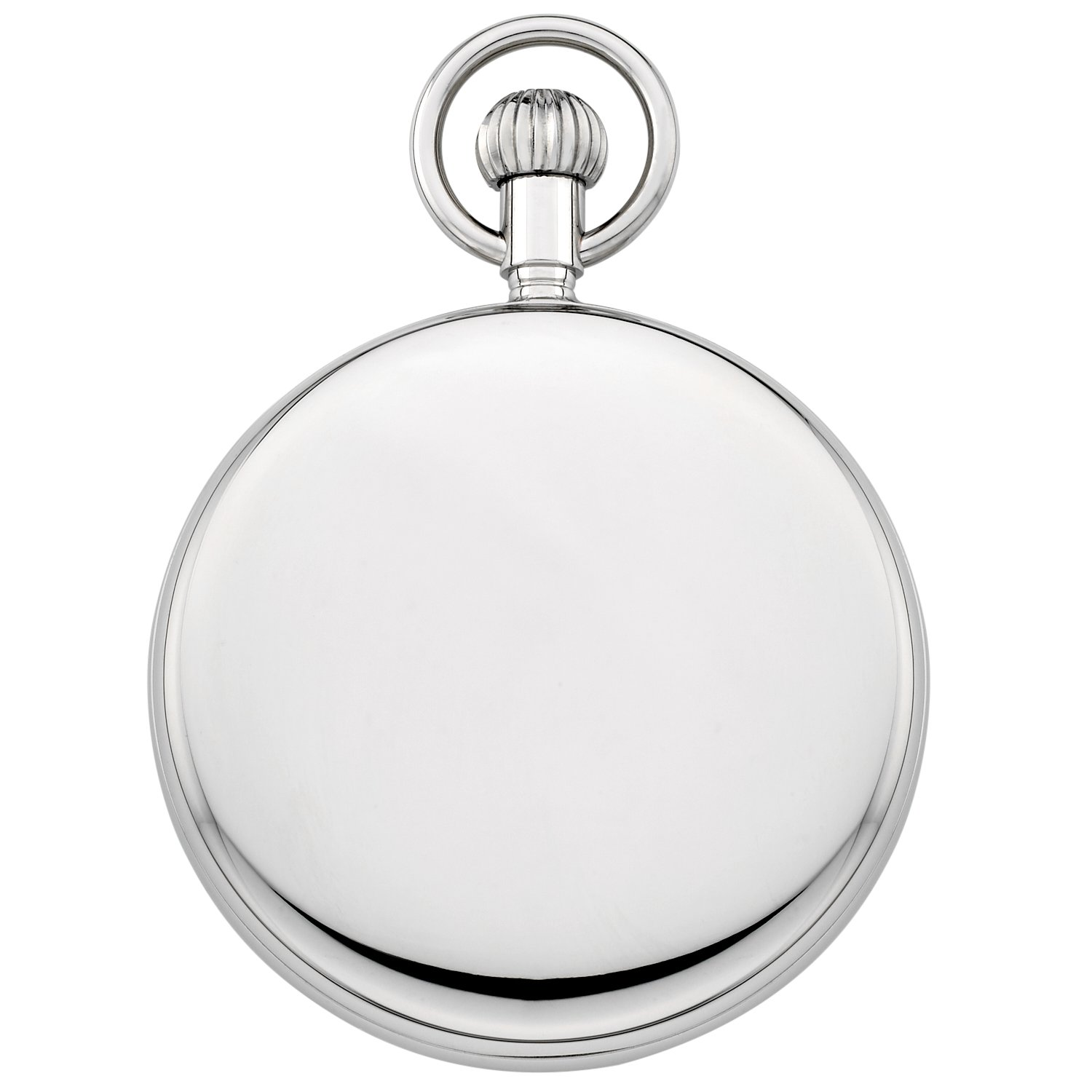 Gotham Men's Silver-Tone Mechanical Hand Wind Railroad Pocket Watch # GWC14102S by Gotham (Image #4)