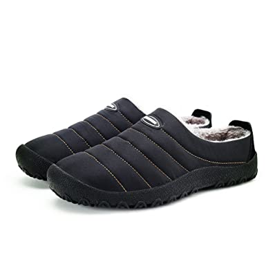 ASLISA Mens Womens House Slippers Snow Winter Outdoor Indoor Anti Slip Slippers Slippers D7YQ4CCGZ