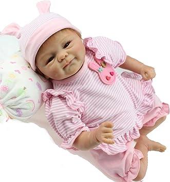 ZIYIUI Realistico Bambole reborn Baby 18 pollici 45 centimetri